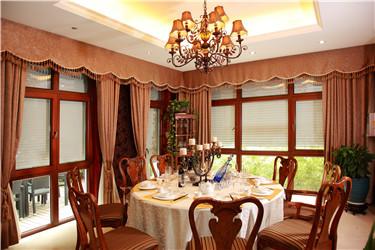 在阳明山庄,有一种窗,叫湘联欧式卷帘窗