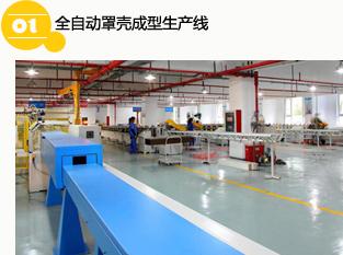 全自动罩壳成型生产线